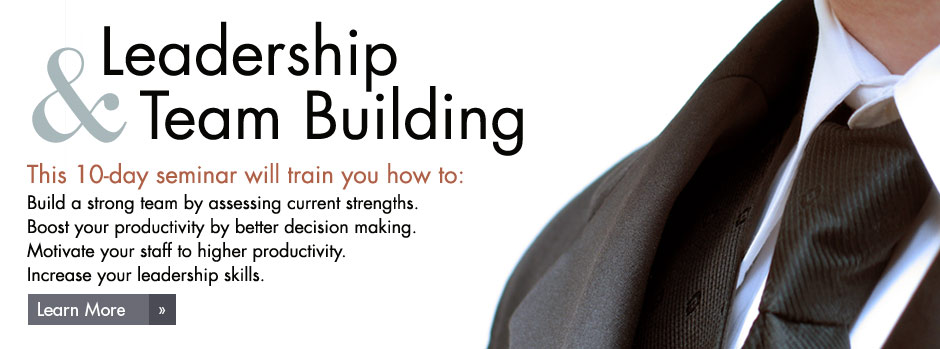 10-Day 'Leadership & Team-Building' Seminar